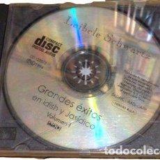 CDs de Música: LEIBELE SCHWARTZ GRANDES EXITOS EN IDISH Y JASIDICO VOL 1. Lote 261377355