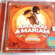 CDs de Música: AMADOU MARIAM CD DIMANCHE A BAMAKO. Lote 261400165