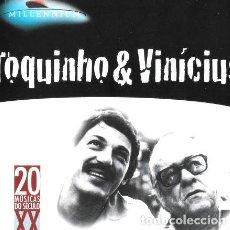 CDs de Música: TOQUINHO VINICIUS MILLENNIUM. Lote 261444795