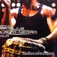 CDs de Música: RICKY MARTIN BLANCO Y NEGRO TOUR CD DVD POP LATINO. Lote 261477945