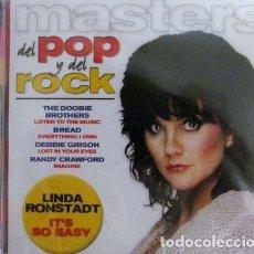 CDs de Música: CD MASTERS DEL POP Y DEL ROCK N 25 TAPA LINDA RONSTADT. Lote 261501155