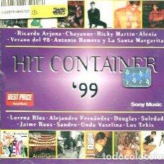 CDs de Música: HIT CONTAINER 99 CD NUEVO SELLADO. Lote 261515275
