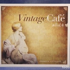 CDs de Música: VARIOUS - VINTAGE CAFÉ VOL.4 - LOUNGE & JAZZ BLENDS - CD. Lote 261531010