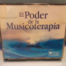 CD de Música: CD. EL PODER DE LA MUSICOTERAPIA. Lote 261531540
