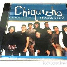 CDs de Música: CHIQUICHA CON VIENTO A FAVOR CD NUEVO ORIGINAL CERRADO. Lote 261516515