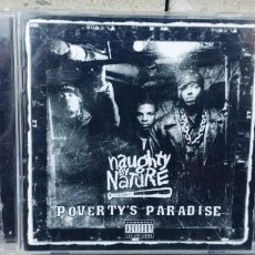 CDs de Música: POVERTY'S PARADISE-CD NAUGHTY BY NATURE. Lote 261539600