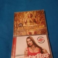 CDs de Música: LOTE CANTADITAS DELUXE VOLUMEN 7 + VOLUMEN 8 PRECINTADO. Lote 261546225