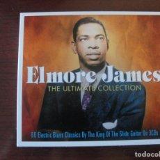 CDs de Música: ELMORE JAMES / THE ULTIMATE COLLECTION / NOT NOW RECORDS 3 CDS DIGIPACK - COMO NUEVO - ENVIO GRATIS. Lote 261556070
