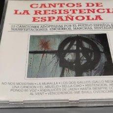 CDs de Música: CANTOS DE LA RESISTENCIA ESPAÑOLA VOL 2. Lote 261565690