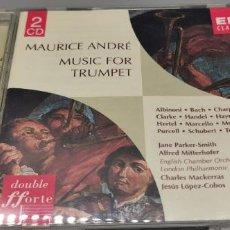 CDs de Música: 2 CD MAURICE ANDRÉ -MÚSICA PARA TROMPETA. Lote 261567130