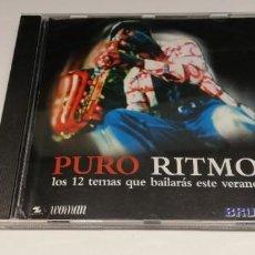 CDs de Música: L6-PURO RITMO - CD DISC VG PORT VG /ENVIO DESDE ESPAÑA!. Lote 261567370