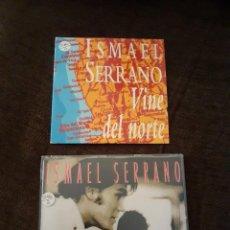 CDs de Música: 2 CDS SINGLES PROMO DE ISMAEL SERRANO.. Lote 261570645