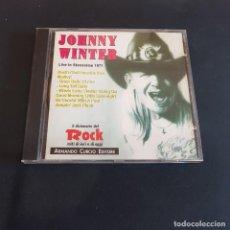 CDs de Música: CD JOHNNY WINTER/LIVE IN STOCCOLMA 1971. Lote 261572790