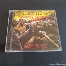 CDs de Música: CD DISASTER/KLASSISCHER FRIEDHOF WEIMAR. Lote 261579160