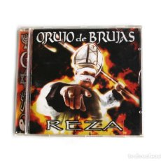 CDs de Música: ORUJO DE BRUJAS - REZA. Lote 261586200