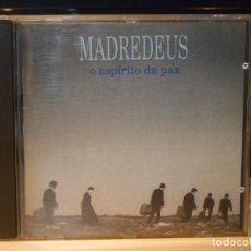 CDs de Música: CD MADREDEUS *O ESPÍRITO DA PAZ* EMI 1994. CON LETRAS. Lote 261592825