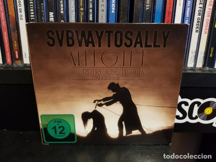 SUBWAY TO SALLY - MITGIFT - CD+DVD - LIMITED EDITION (Música - CD's Heavy Metal)