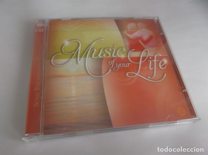 2 CD .- MUSIC OF YOUR LIFE - SOME ENCHANTED EVENING - ZESTEFY-2012- CD 1-16 TEMAS- CD 2 17 TEMAS (Música - CD's Otros Estilos)