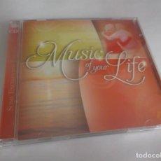 CDs de Música: 2 CD .- MUSIC OF YOUR LIFE - SOME ENCHANTED EVENING - ZESTEFY-2012- CD 1-16 TEMAS- CD 2 17 TEMAS. Lote 261609540