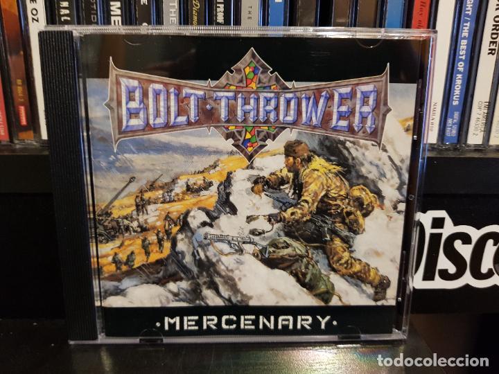 BOLT THROWER - MERCENARY (Música - CD's Heavy Metal)
