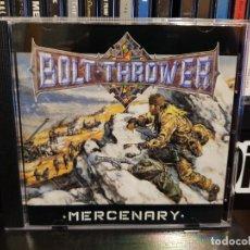 CDs de Música: BOLT THROWER - MERCENARY. Lote 261610400
