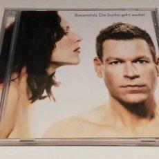 CDs de Música: L6-ROSENSTOLZ - DIE SUCHE GEHT - CD DISC NM PORT VG /ENVIO DESDE ESPAÑA!. Lote 261610615
