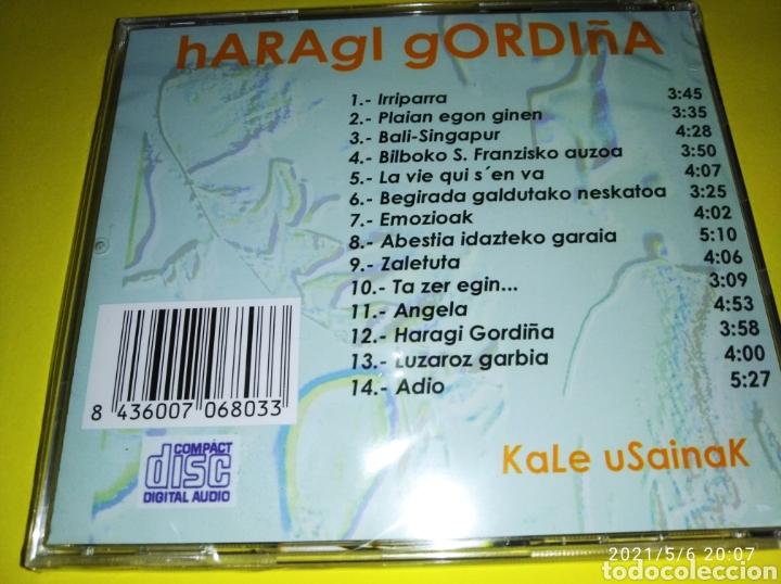 """CDs de Música: """"HARAGI GORDIÑA KALE USAINAK""""( CD NUEVO Y PRECINTADO) 2001 - Foto 2 - 261610700"""