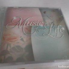 CDs de Música: 2 CD .- MUSIC OF YOUR LIFE - FALLING IN LOVE - ZESTEFY-2012- CD 1-16 TEMAS- CD 2 17 TEMAS. Lote 261611195