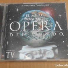 CDs de Música: EL MEJOR ALBUM DE OPERA DEL MUNDO38 TEMAS. Lote 261613720