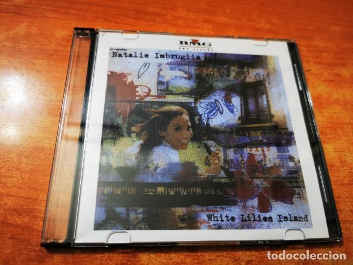 NATALIE IMBRUGLIA WHITE LILIES ISLAND CD MAXI SINGLE PROMO CD-R BMG 3 TEMAS + ENTREVISTA+VIDEO+FOTOS (Música - CD's Pop)