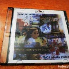 CDs de Música: NATALIE IMBRUGLIA WHITE LILIES ISLAND CD MAXI SINGLE PROMO CD-R BMG 3 TEMAS + ENTREVISTA+VIDEO+FOTOS. Lote 261614335