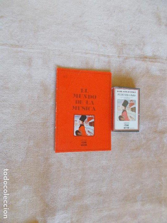 EL MUNDO DE LA MÚSICA -COLECCIÓN RTVE- CASSETTE- IGOR STRAVINSKY - PETRUSHKA- BALLET (Música - CD's Clásica, Ópera, Zarzuela y Marchas)