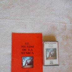 CDs de Música: EL MUNDO DE LA MÚSICA -CASSETTE- FRANZ SCHUBERT - MISA ALEMANA - COLECCIÓN RTVE. Lote 261615180