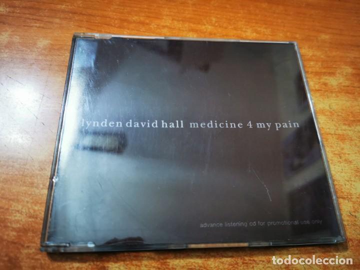 LYNDEN DAVID HALL MEDICINE 4 MY PAIN CD ALBUM PROMO DEL AÑO 1997 CONTIENE 11 TEMAS (Música - CD's Jazz, Blues, Soul y Gospel)