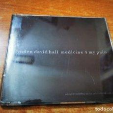 CDs de Música: LYNDEN DAVID HALL MEDICINE 4 MY PAIN CD ALBUM PROMO DEL AÑO 1997 CONTIENE 11 TEMAS. Lote 261615715