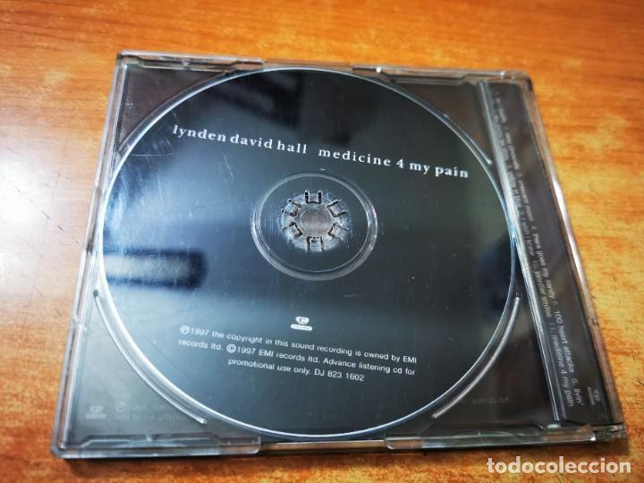 CDs de Música: LYNDEN DAVID HALL Medicine 4 my pain CD ALBUM PROMO DEL AÑO 1997 CONTIENE 11 TEMAS - Foto 3 - 261615715