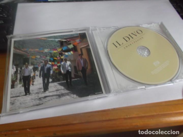 CDs de Música: CD .- IL DIVO - AMOR & PASION - SYCO MUSIC 2015 - 12 TEMAS (INCLUYE HIMNO DE LA ALEGRIA ) - Foto 2 - 261616255