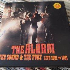 CDs de Música: THE ALARM–THE SOUND & THE FURY (LIVE 1981 TO 1991) CAJA 2 CDS + DVD + ENCARTE. Lote 261693505