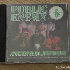 CDs de Música: CD PUBLIC ENEMY APOCALYPSE 91... THE ENEMY STRIKES BLACK. Lote 261797280