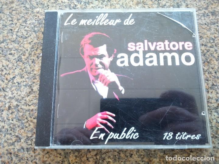 CD -- LO MEJOR DE SALVATORE ADAMO -- 18 TEMAS -- 1994 -- (Música - CD's Melódica )