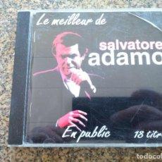 CDs de Música: CD -- LO MEJOR DE SALVATORE ADAMO -- 18 TEMAS -- 1994 --. Lote 261829745