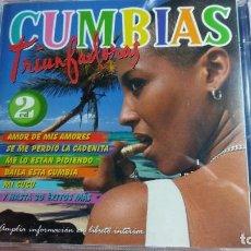 CDs de Música: CUMBIAS TRIUNFADORAS - 2 CD `S - VER FOTOS. Lote 261847580