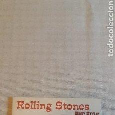 CDs de Música: CD ROLLING STONES BABY STYLE, 2006 TRAE LIBRITO. Lote 261851005