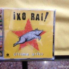 CDs de Música: IXO RAI! – ULTIMO GRITO SELLO: FONOMUSIC – ALBUM CD-1400 FOLK-ROCK ARAGON 1997. Lote 261851285