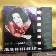 CDs de Música: CRISTINA PATO – XILENTO ALBUM CD DIGIPACK NUEVO PRECINTADO. Lote 261851485