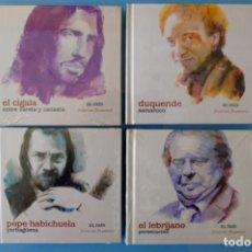 CDs de Música: EL CIGALA.ENTRE VARETA Y CANASTA-P.HABICHUELA.YERBAGÜENA-DUQUENDE,SAMARUCO-EL LEBRIJANO.PERSECUCIÓN. Lote 261852275