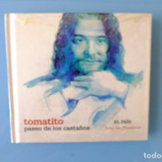 CDs de Música: TOMATITO. PASEO DE LOS CASTAÑOS.JOYAS DEL FLAMENCO LIBRO + CD. Lote 261852630
