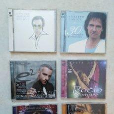 CDs de Música: LOTE DE 4 CD DOBLES + 2 CD + DVD. Lote 261868160