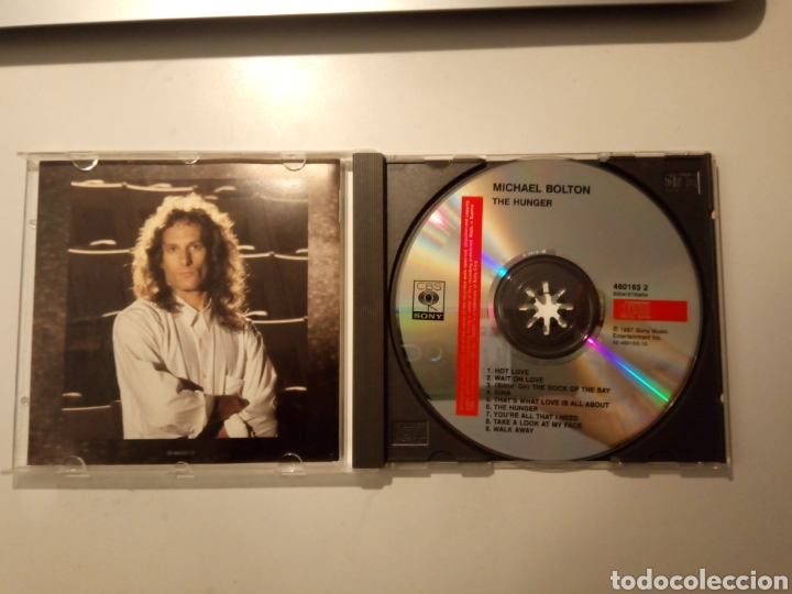 CDs de Música: Michael Bolton - The Hunger. CD. - Foto 2 - 261873765