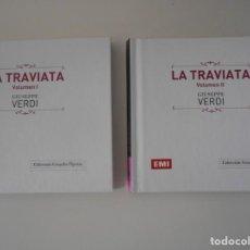 CDs de Música: LA TRAVIATA. GIUSEPPE VERDI. DOBLE COMPACTO EMI. MARIA CALLAS, ETTORE BASTIANINI, GIUSEPPE ZAMPIERI,. Lote 261911195